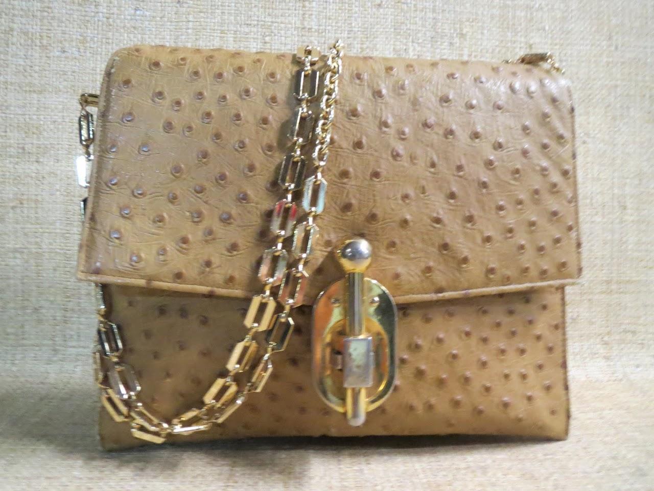 Vintage Lederer Shoulder Bag