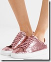 Axel Arigato Glittered Leather Sneakers