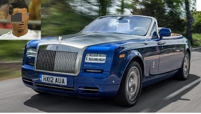 Rolls Royce cristaino Ronaldo