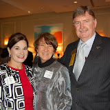 Dawn Litchfield, Susan McMahan and Terry McMahan- Hall of Fame Laureate, Collier 2007