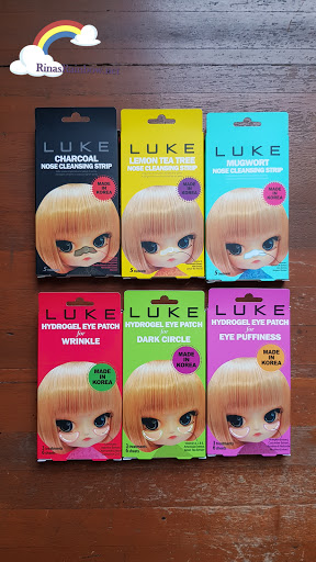 LUKE Korea Total Skin Solution, Korean nose strip, Korean eye patch