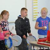 Muzikale uitvoering groep 5 de 7-Sprong - Foto's Abel van der Veen