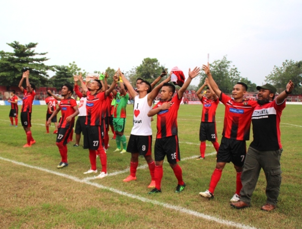 Persinga Ngawi menang tipis 2-1 lawan Madiun Putra FC (MPFC)