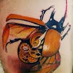 mechanical scarab - tattoo designs