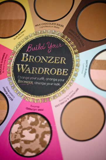 Happy 4th Blogiversary + A Blog Giveaway of Too Faced Little Black Book of Bronzers.