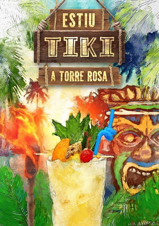 Portada carta estiu Tiki a Torre Rosa