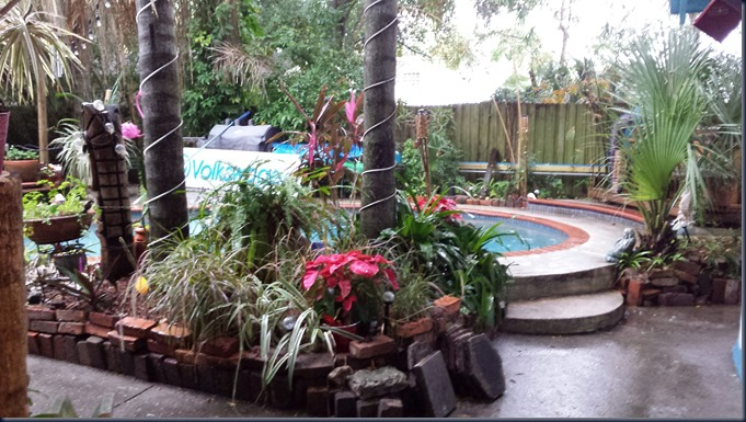 Tropical Garden in Florida