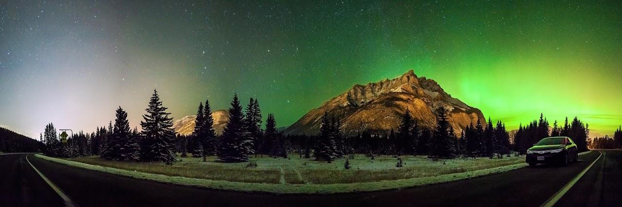 IMAGE: https://lh3.googleusercontent.com/-eCineSRN2qY/UoMwot6T_SI/AAAAAAAAB6o/Xev-XS7UYoE/w1277-h426-no/Banff-aurora.jpg
