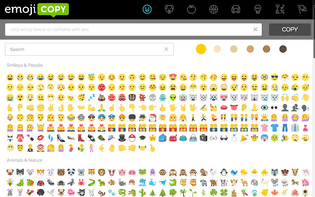 And paste copy emojis Smiley COOL