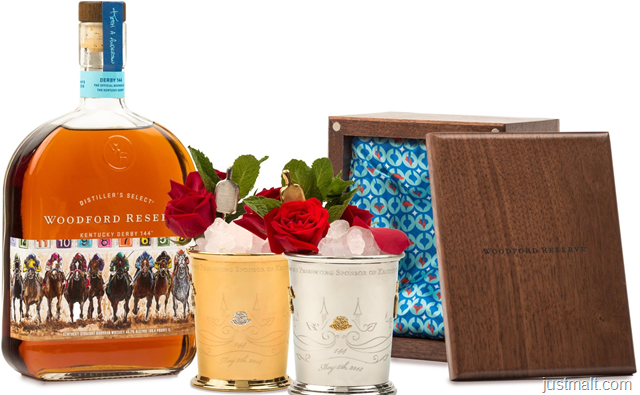 Woodford Reserve® Celebrates the Best of Kentucky with 2018 Kentucky Derby® $1,000 Mint Julep Cup