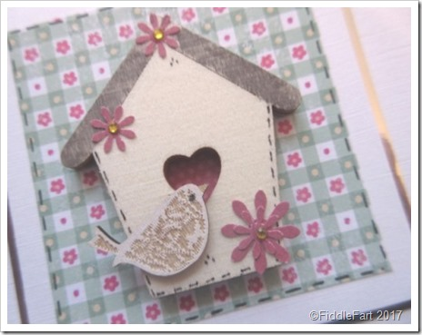 Little Bird and Bird House Card