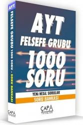 Çapa Yayınları AYT Felsefe Grubu Soru Bankası