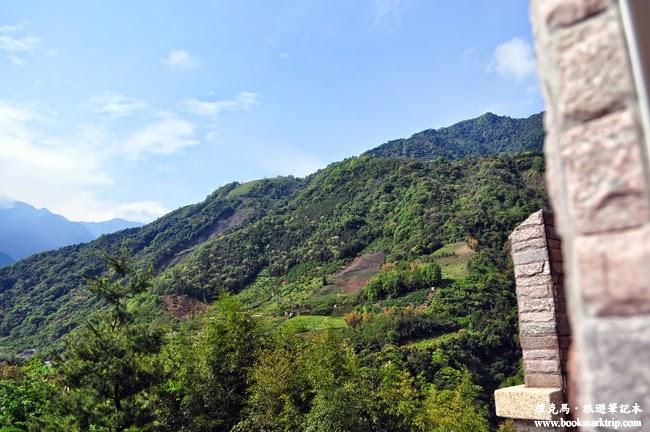 沙里仙溫泉度假村山峰景觀
