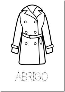 Abrigo ropa dibujos colorear pintaryjugar  (8)