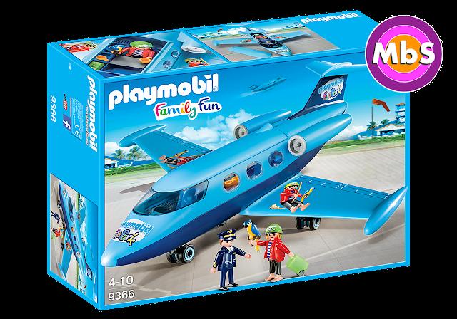 El avión viagra de Playmobil: FunPark 2017