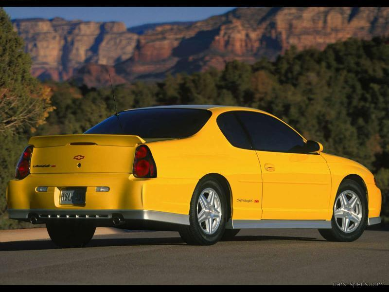 2004 chevrolet monte carlo coupe specifications pictures prices. Black Bedroom Furniture Sets. Home Design Ideas