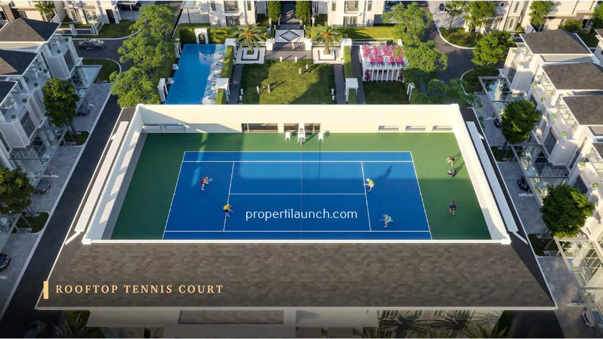 Bukit Podomoro Lapangan Tenis
