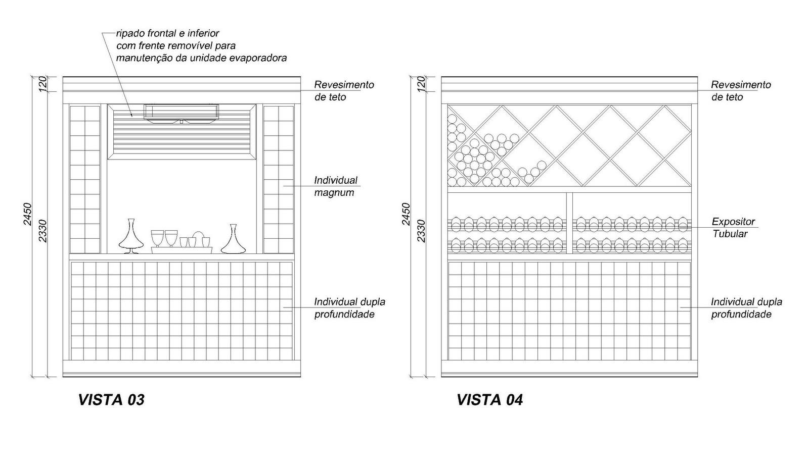 Nayara Macedo Arquitetura: Projeto de Adega em execução #424242 1600 929