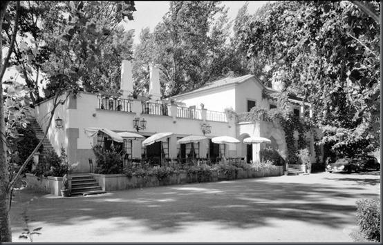 Resultado de imagem para imagens antigas da estalagem de Santa Iria em Tomar