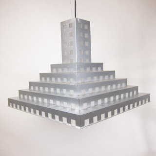 Tiered Aluminum Pendant Lamp