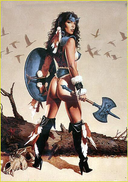 Girl With Battle Axe, Magick Warriors 3