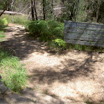 Signpost at intersection near Govetts Leap (15130)