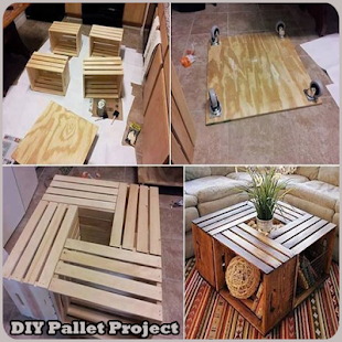 DIY Pallet Project- screenshot thumbnail