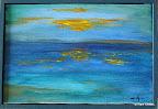 153 - Saint-Eustachius - 2006 33 x 22 - Technique mixte sur toile