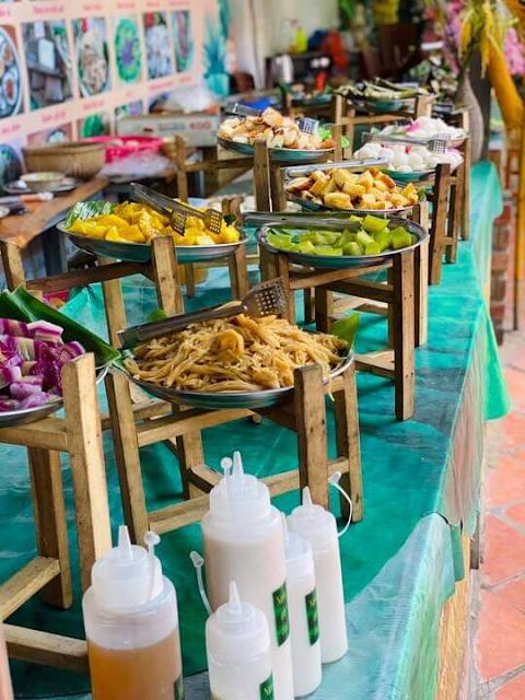 Khu ẩm thực làng bột Sa Đéc :