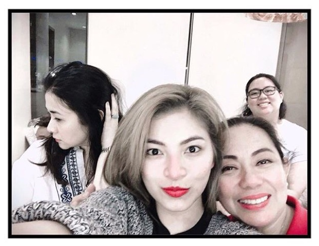 Angel Locsin Sports A Blonde Hair For Her New Movie Tv Series Craze