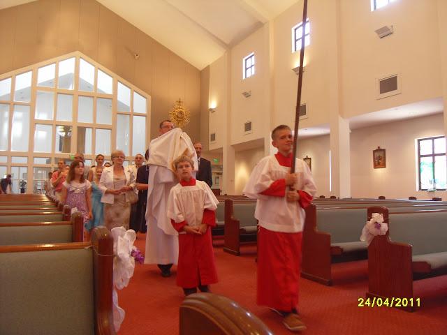 4.24.2011. Msza Wielkanocna z procesją. Zdjęcia B. Kołodyński i E. Gürtler-Krawczyńska. - SDC12521.JPG