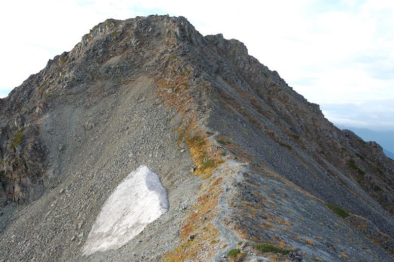 中岳の登り