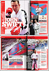 Mr Swift featured in Martial Arts illustrated, May 2012