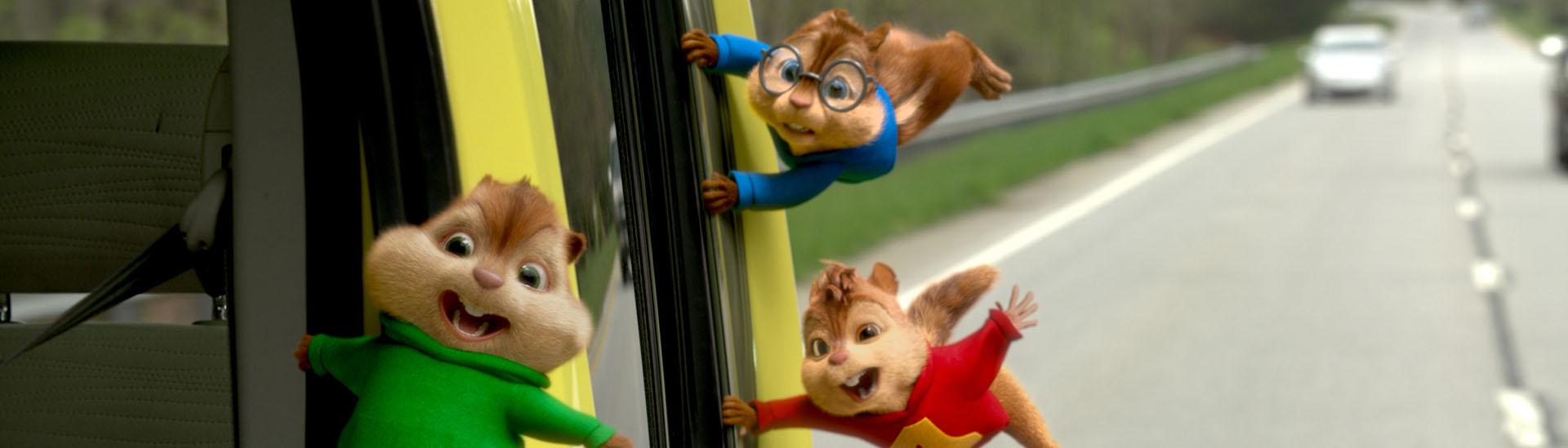 Baner filmu 'Alvin i Wiewiórki: Wielka Wyprawa'