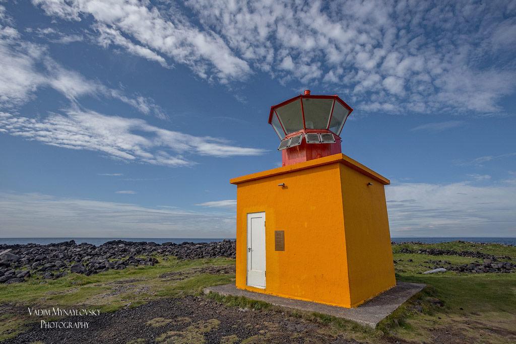Маяк Ёндверзарнес (Öndverðarnes), полуостров Снайфельснес (Snæfellsnes), Исландия