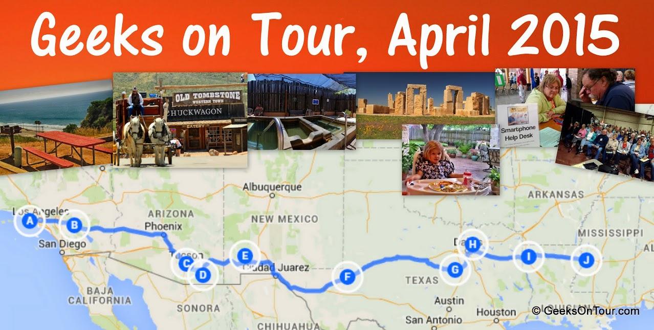 April Travels