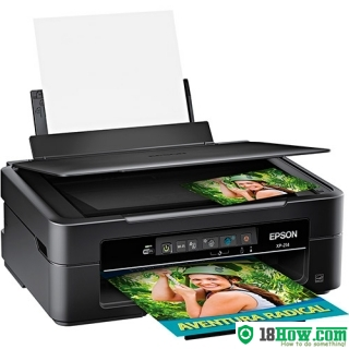 How to Reset Epson XP-214 inkjet printer – Reset flashing lights problem