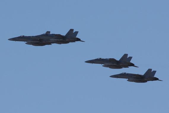 Composición del Desfile Aéreo, Día de la Fiesta Nacional, 12 de octubre de 2015
