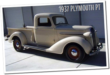 1937 PLYMOUTH PT-50 PICKUP - autodimerda.it