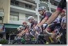 1 Alcuni portacolori dell'Asd Ciclisti di Giano schierati alla partenza