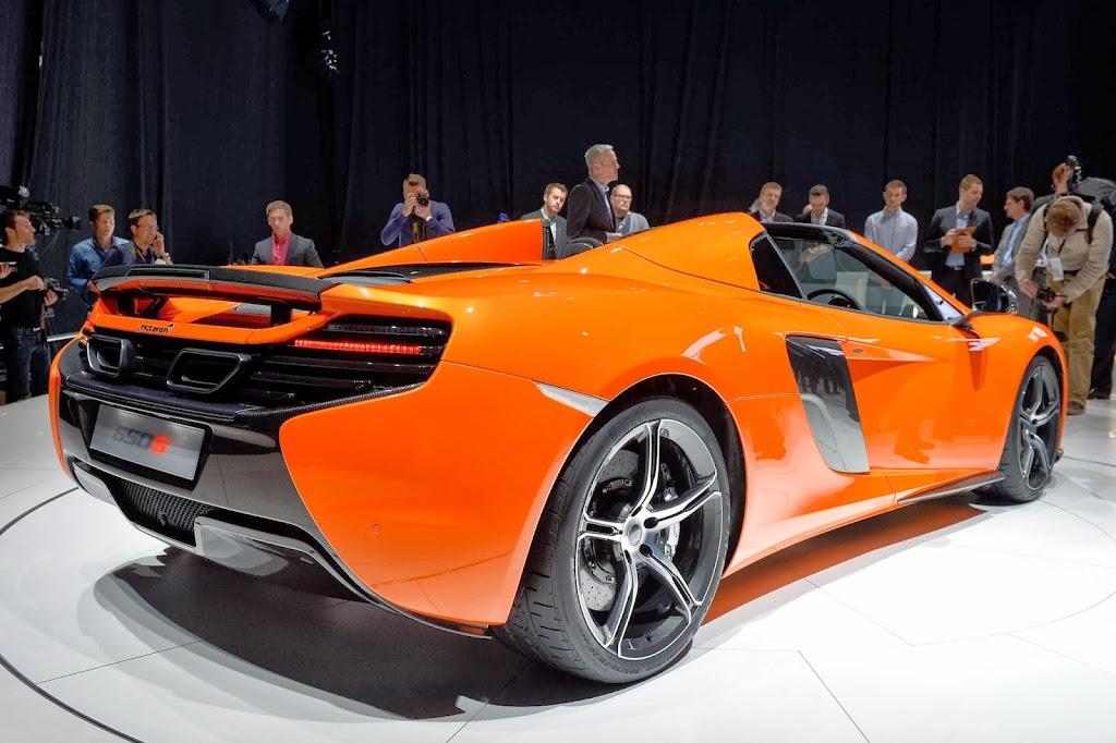 McLaren 650S Spider Geneva Motor Show 24