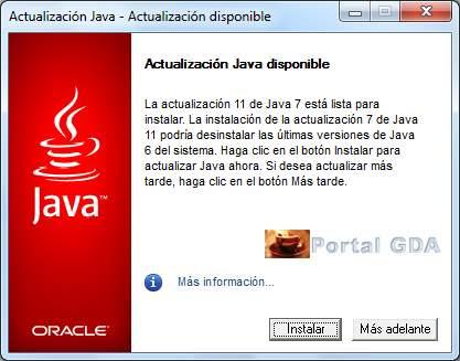 Cuidado, aparecen falsas actualizaciones de Java