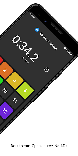 Game of Fifteen: 15-puzzle with Flutter screenshot 4