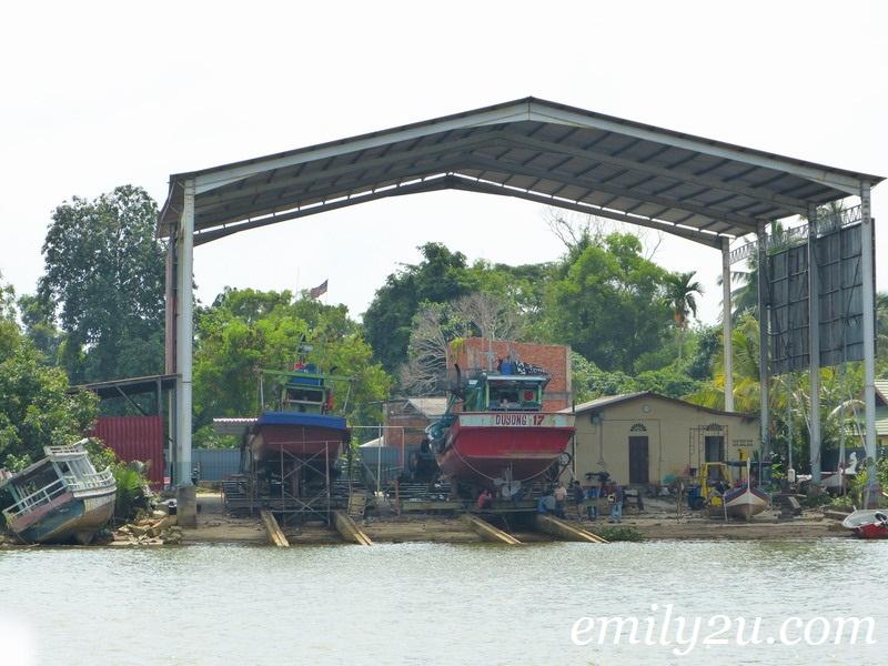 Terengganu boat ride
