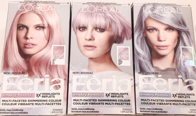 REVIEW: L'OREAL Feria Smokey Pastels Haircolour