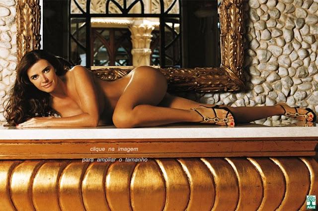 As Fotos De Luma Oliveira Nua Pelada Na Playboy Total