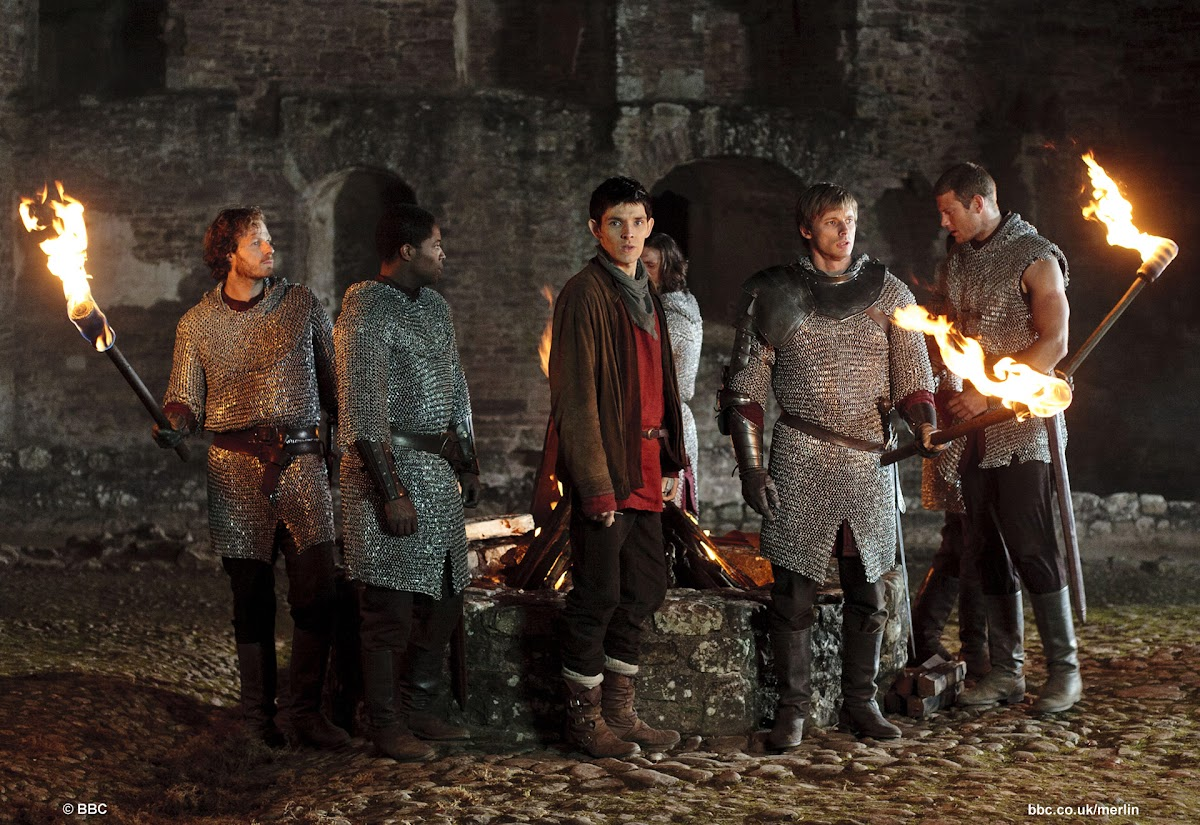 BBC Merlin The Darkest Hour still