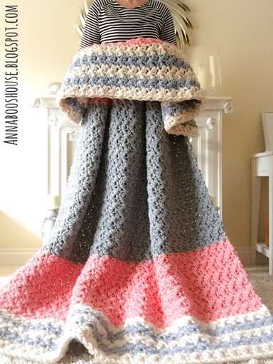 Crochet Pattern For Large Afghan : Annaboos house: The Enormous, Squishy Blanket