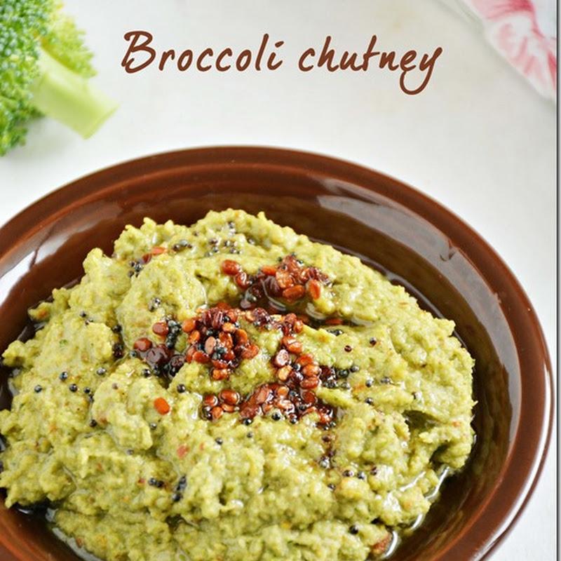 Broccoli chutney