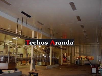 Oferta economica techos registrables Madrid